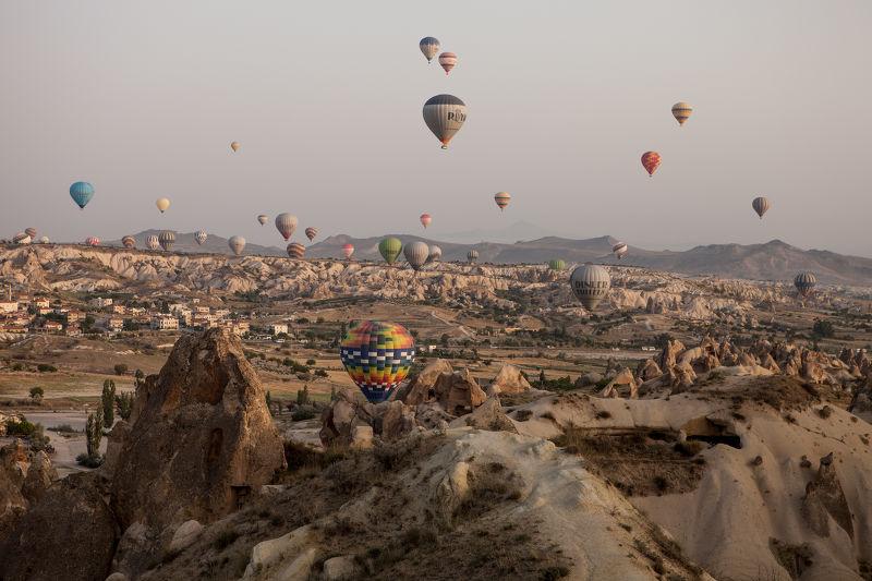 Photographie Les mongolfières de Cappadoce
