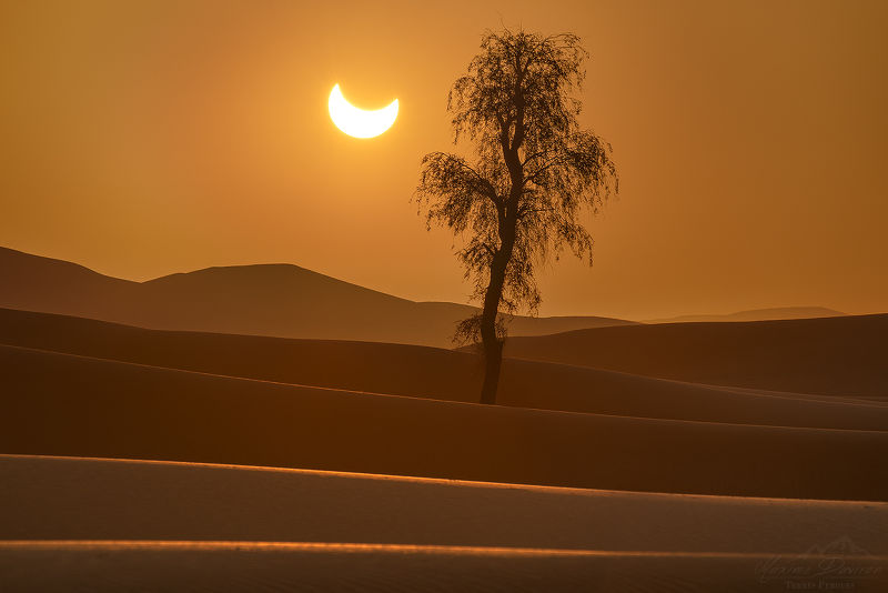 Photographie Eclipse lunaire