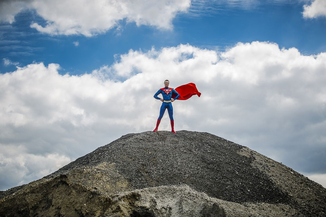 Superman sauve le monde
