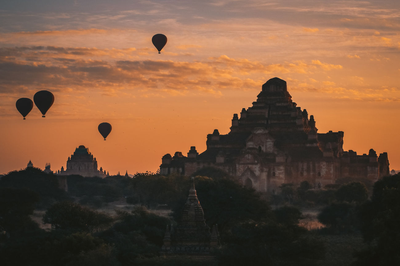 Myanmar from above - 3