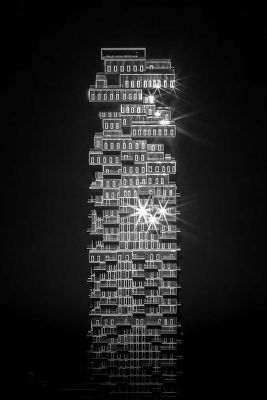 Jenga Tower, New-York