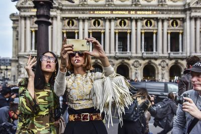 Le selfie fashion de Gilda & Candela, Paris 2015