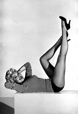 Betty Grable, 1954 © TopFoto / Roger-Viollet