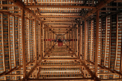 Wooden drum tower, SANJIANG