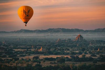 Myanmar from above - 2