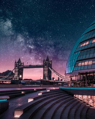 Tower Bridge & City Hall - Londres