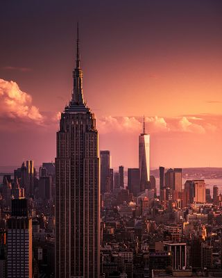 Empire State Building & Freedom Tower - New York