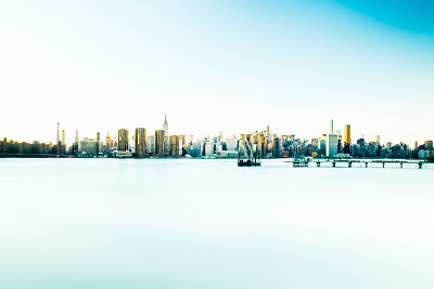 Manhattan and the East River