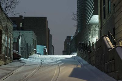 Downtown Montreal, Blue