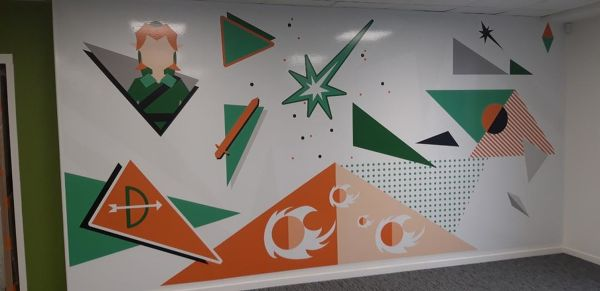 Fresque POP CULTURE Zelda