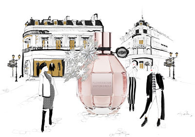 Illustration Parfum Paris