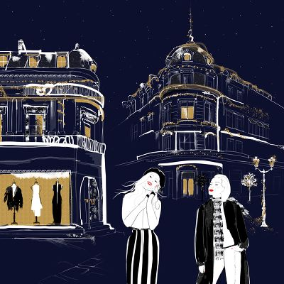 Illustration parfum Paris 2