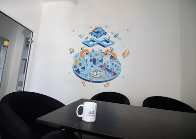 Illustration sur mesure pour Infinite Square